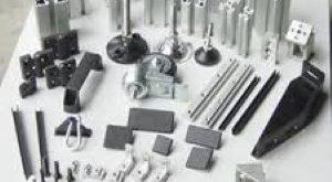 فروش متری پروفیل آلومینیوم شیاردار صنعتی