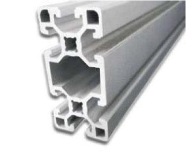 پروفیل آلومینیوم شیاردار مهندسی سنگین 45x90